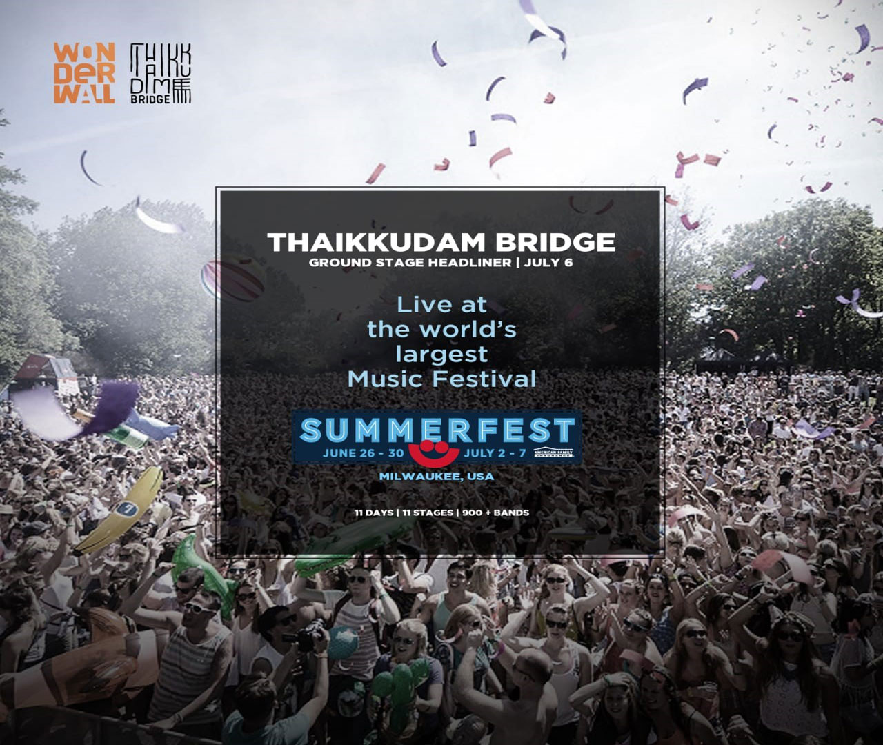 Thaikkudam Bridge @ SUMMERFEST